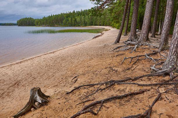Helvetinjärven kansallispuisto on suosittu retkeilykohde Ruovedellä.