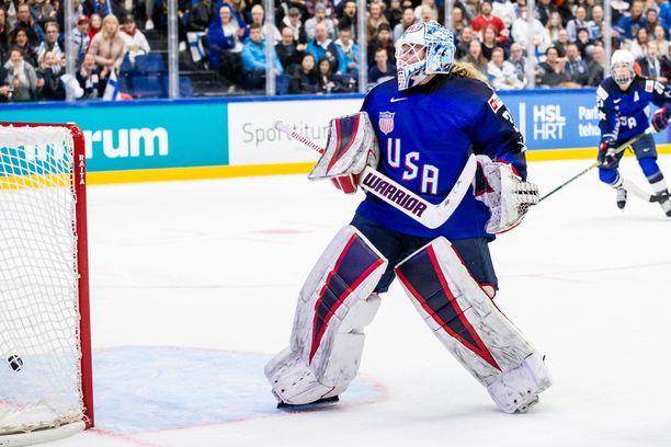 Alex Rigsby torjui USA:lle MM-kultaa.