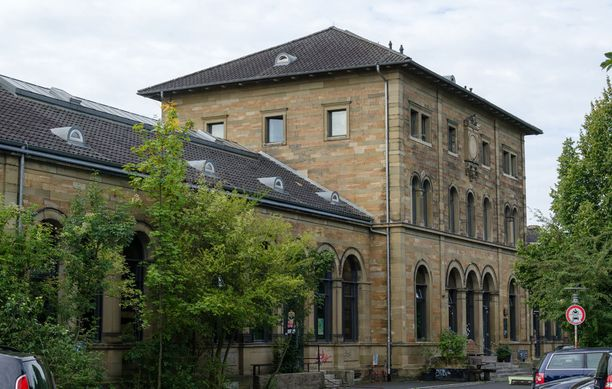 Vähältä piti -tilanne sattui Schweinfurtin keskustassa. (Kuvituskuva)