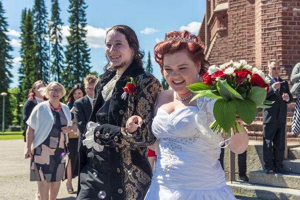 Eetu ja Sonja vihitään Mikkelin tuomiokirkossa.