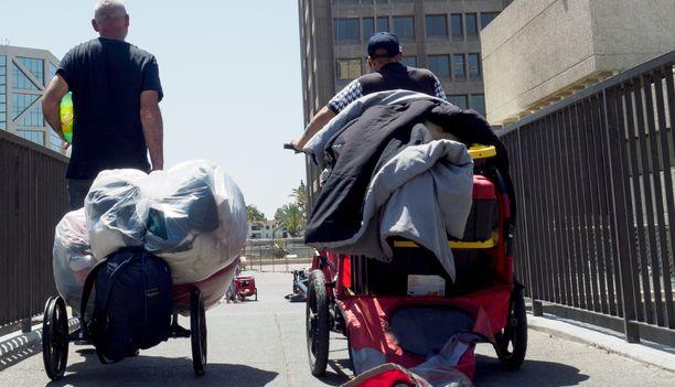 Kodittomuus on vakava ongelma Yhdysvalloissakin. (Kuvituskuva)