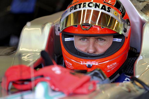 Michael Schumacherin viimeinen F1-kausi oli 2012.