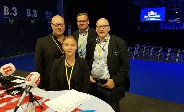 IL on paikalla puoluekokouksessa Jyväskylässä.