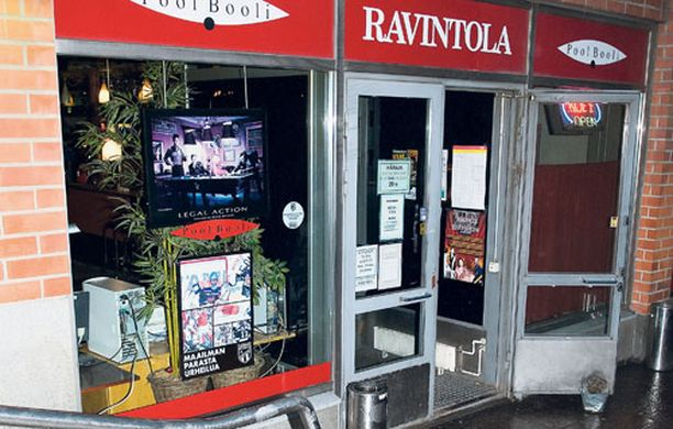 TAPPELUPAIKKA Nokkapokka käytiin elokuun 2. päivänä kello 02-03 välillä tamperelaisessa ravintolassa.