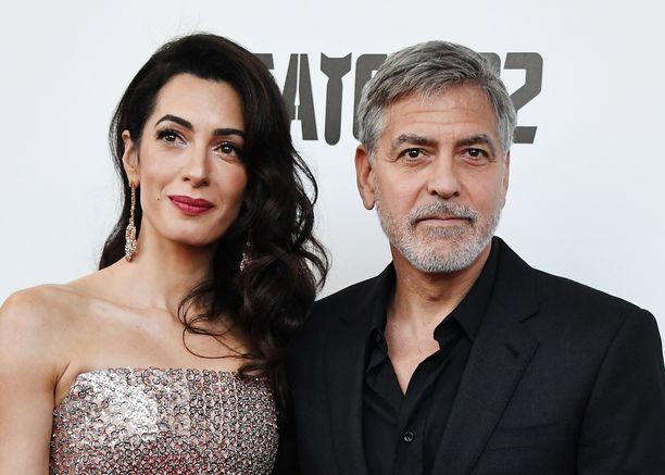 Amal ja George Clooney tapasivat vuonna 2013.