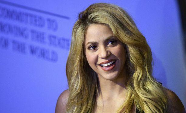 Shakira on perunnut kiertueensa. Kuvassa kolumbialaistähti Sveitsissä tammikuussa 2017.
