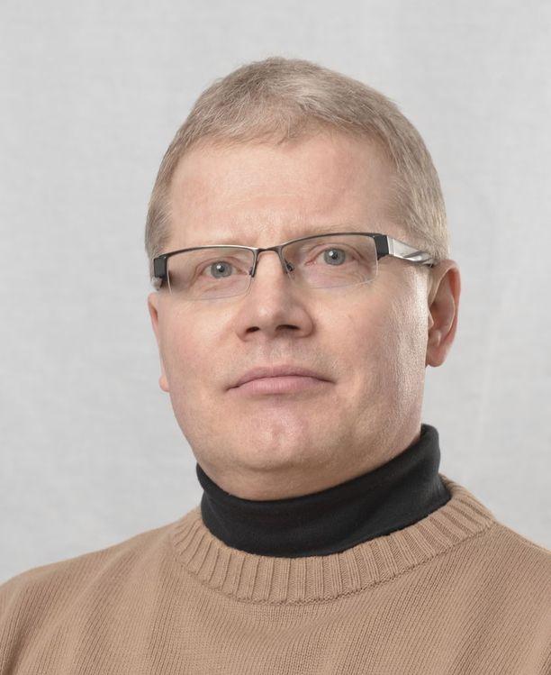 Ylilääkäri ja ympäristöterveyden dosentti Raimo O. Salonen
