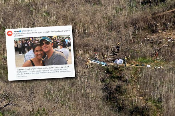 Kolmen lapsen äiti Christina Mauser menehtyi traagisessa helikopterionnettomuudessa.