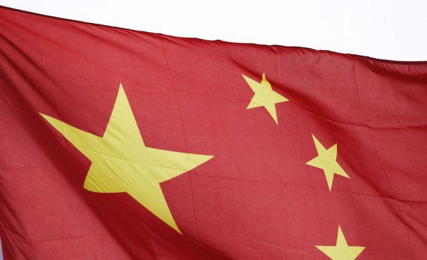 Kiinalla riittää olympiaurheilijoita. Kuvituskuva.