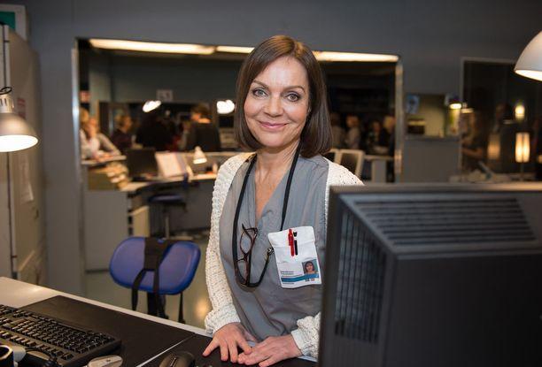 Lena Meriläinen toivoisi Lenitan roolihahmolle valoisampia aikoja viime kauden synkkien tapahtumien jälkeen.