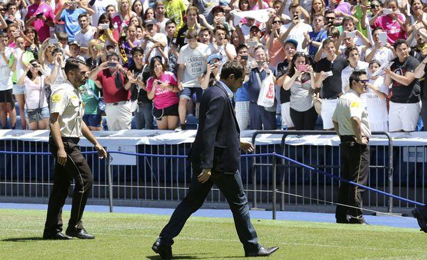 Iker Casillas jätti jäähyväiset Santiago Bernabeu -stadionilla.
