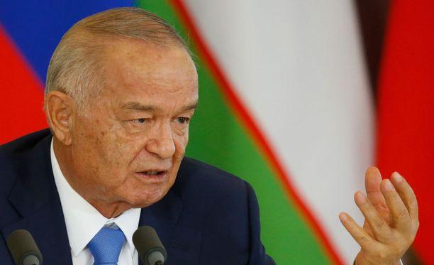 Islam Karimov joutui sairaalaan aivoverenvuodon takia.