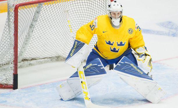 Linus Söderström oli Ruotsin ykköstähti USA:ta vastaan.