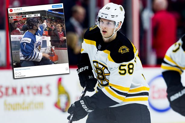 NHL-seura Boston Bruinsin organisaatioon kuuluva Urho Vaakanainen kirjoitti Kanadassa nimmarin rangaistusaitiossa. Siitä alkoi erikoinen tapahtumaketju.