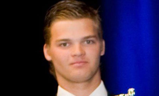 Teemu Hartikainen valittiin SM-liigassa vuoden tulokkaaksi kauden 2008-2009 päätteeksi.