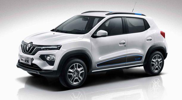 Dacian sähköauto pohjautuu tähän aiemmin Kiinassa esiteltyyn Renaultin miniautoon.