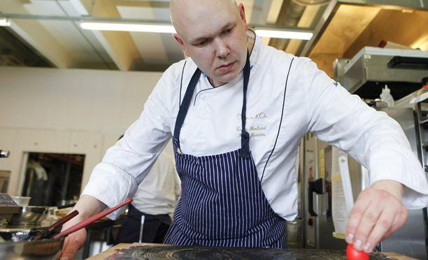 Matti Jämsen harjoitteli vuoden päivät kokkikisaa varten.