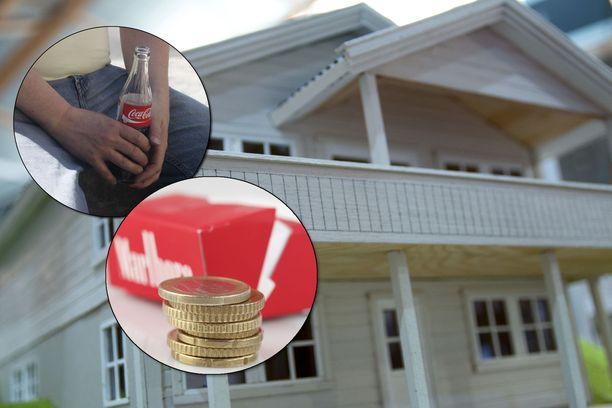 Sokerillisten virvoitusjuomien ja tupakan verotus kiristyy. Asuntovelan koron vähennysoikeus pienenee ja poistuu vuonna 2023.