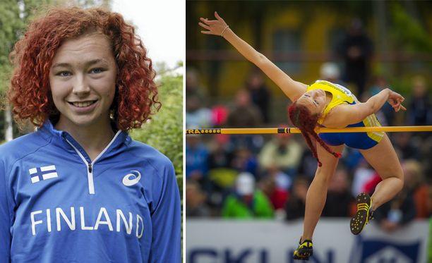 Ella Junnila laittoi ennätyksensä uusiksi.