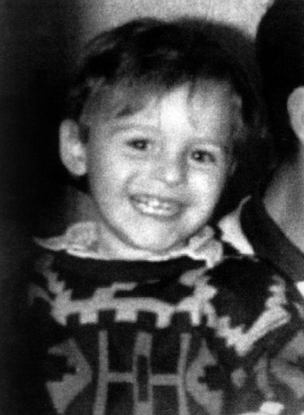 James Bulger oli vain kaksivuotias.