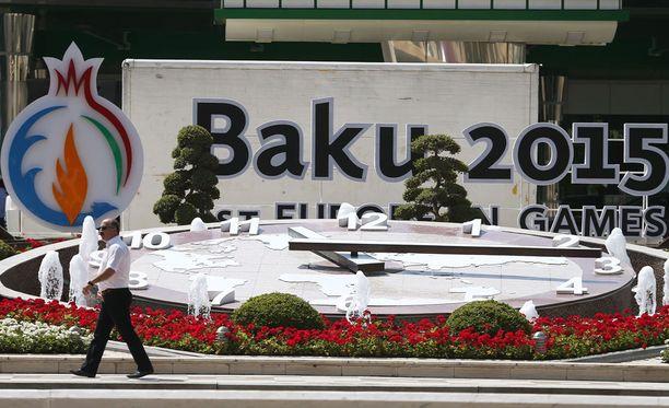Euroopan kisat käydään Bakussa 12.-28. kesäkuuta