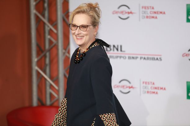 Meryl Streep on arvostettu näyttelijä.