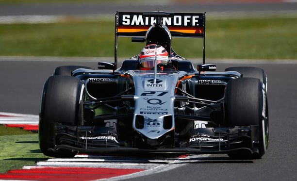 Nico Hülkenberg ajaa tällä kaudella Force India -tallissa.