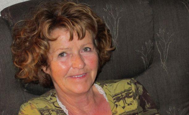 Perheen julkaisema kuva Tom Hagenin vaimosta Anne-Elisabeth Falkevik Hagenista. Pariskunnalla on kolme aikuista lasta ja useita lapsenlapsia.