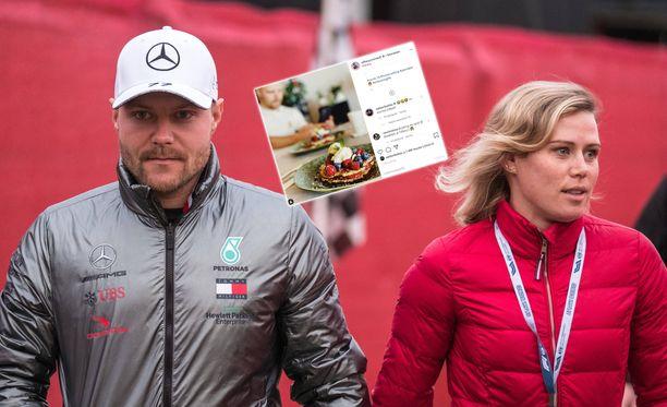 Valtteri Bottas ja Tiffany Cromwell seurustelevat.
