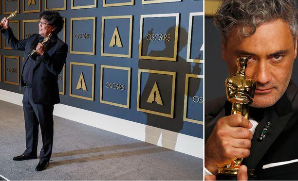 Parasite-ohjaaja Bong Joon Ho ja Jojo Rabbit -elokuvasta parhaan sovitetun käsikirjoituksen Oscar-palkinnon saanut Taika Waititi johtivat Hollywoodin kansainvälistymistä 92. Oscar-gaalassa.