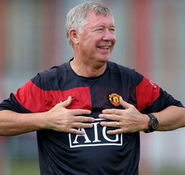 Hymyileekä Alex Ferguson jälleen kauden jälkeen?