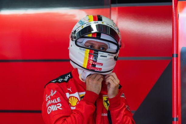 Sebastian Vettel ajoi yhden Ferrari-uransa huonoimmista aika-ajoista.
