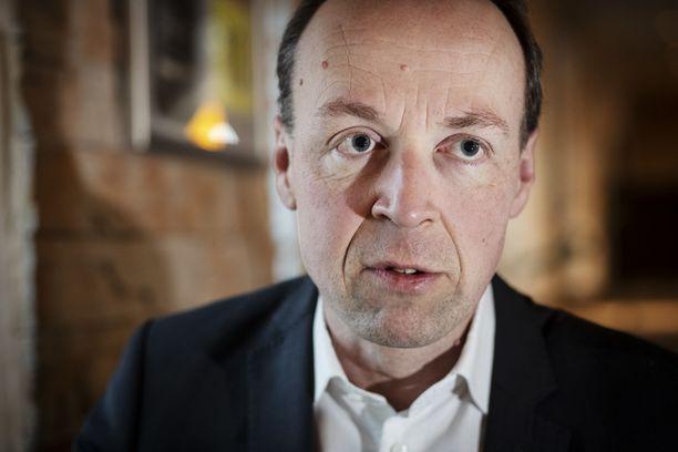 Jussi Halla-aho ei kaihda vastakkainasettelua politiikassaan.