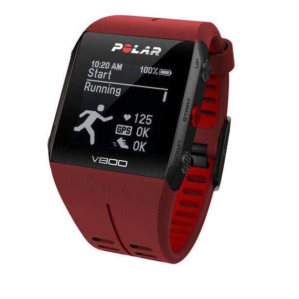 Polar V800 on huippu-urheiluun suunniteltu GPS-harjoitustietokone. Suositushinta 399,90€