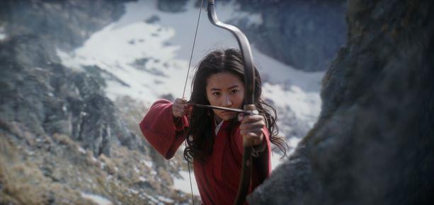 Mulanin roolissa uudessa elokuvassa nähdään Liu Yifei.