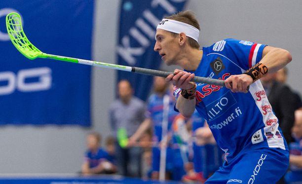 Jarkko Nieminen pääsi vihdoin debytoimaan loukkaantumisten jälkeen.