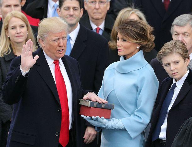 Donald Trump oli väitetysti erittäin huonolla tuulella päivänä, jolloin hänestä tehtiin presidentti.
