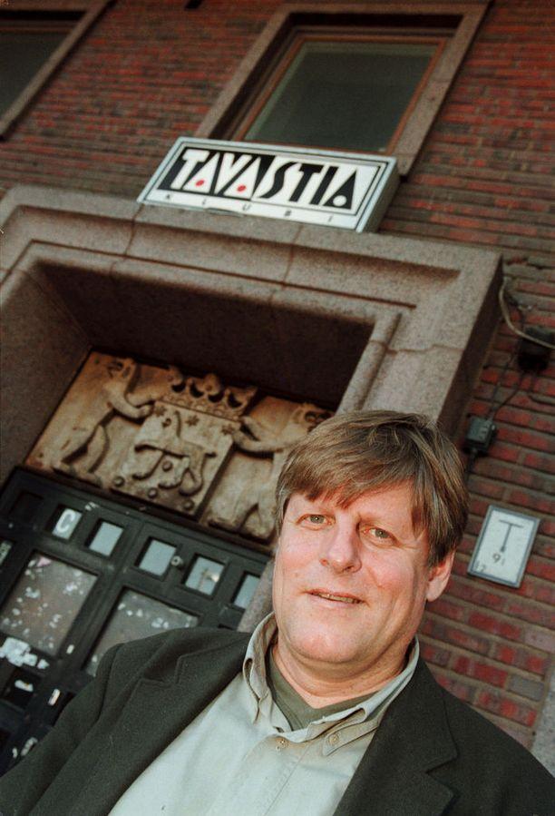 Toimitusjohtaja sai potkut Tavastialta 1989, mutta palasi takaisin rockklubin johtoon. Kuva vuodelta 2000.
