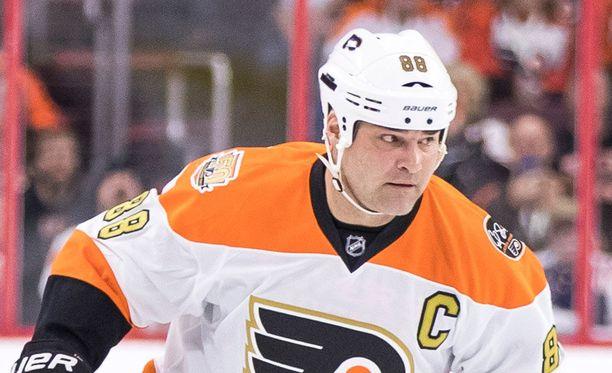 Eric Lindros pelasi NHL:ssä vuosina 1992-2007.