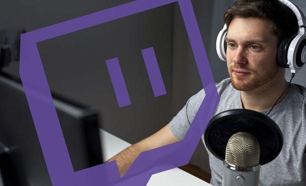 Twitch on erittäin suosittu striimauspalvelu, jossa seurataan pelaajia.