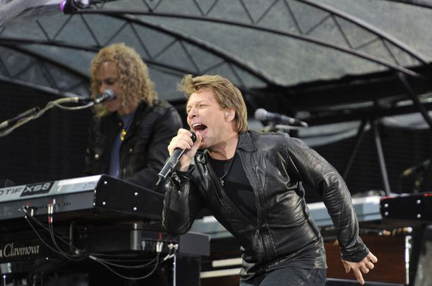 Bon Jovi esiintyi edellisen kerran Suomessa vuonna 2011.