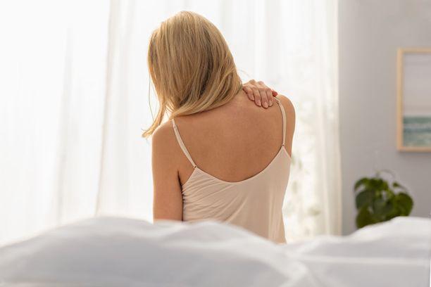 Vanhalla ja kuluneella patjalla nukutun yön jälkeen olo ei välttämättä ole virkeä.