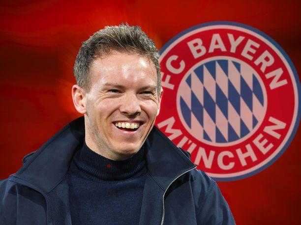 Julian Nagelsmann teki viiden vuoden sopimuksen Bayern Münchenin kanssa.