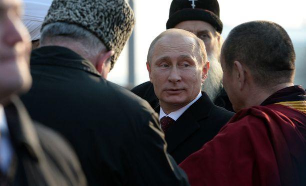 Putinin mukaan Molotovin-Ribbentropin sopimuksessa ei ollut mitään väärää.