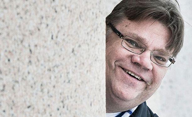 Puheenjohtaja Timo Soini on ehdolla Uudenmaan vaalipiiristä.