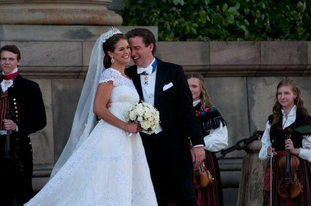 Prinsessa Madeleinen ja Chris O'Neillin häitä vietettiin kaksi vuotta sitten. Madeleine odottaa jo toista lastaan.