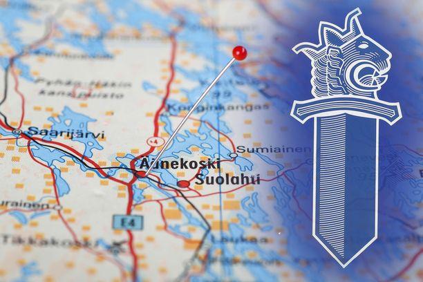 Sisä-Suomen poliisin mukaan onnettomuudessa on osallisena kahdeksan ihmistä.
