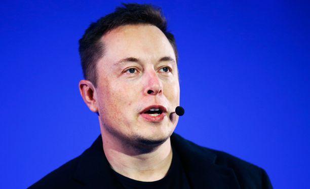 Tesla Motorsin perustaja ja toimitusjohtaja Elon Musk.