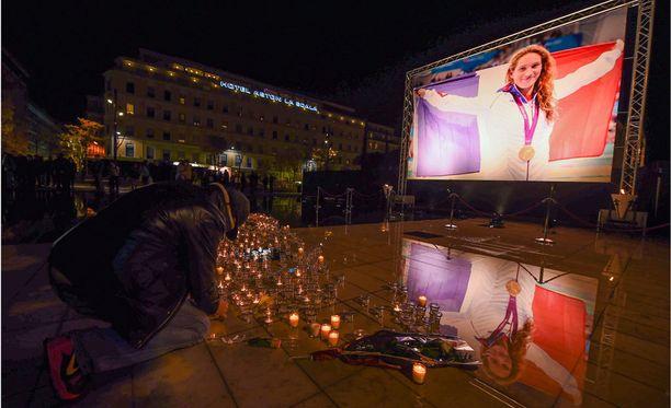 Caroline Muffatia muistetaan hänen kotikaupungissaan Nizzassa.