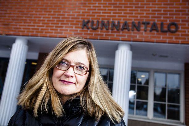 Kittilän entinen kunnanjohtaja Anna Mäkelä.